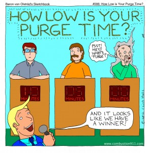 How Low is Your Purge Time?