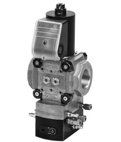 Flow Rate Regulator with Solenoid Valve VAH