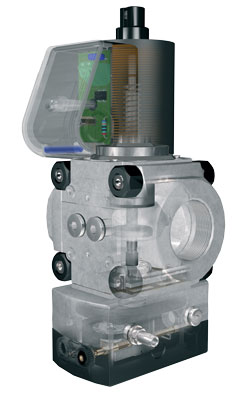 Gas/air ratio control with Solenoid Valve VAG